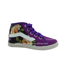 China Wholesale Crianças High Top Canvas Shoes (H267-S)