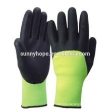 CE Нитриловые акриловые махровые перчатки зима