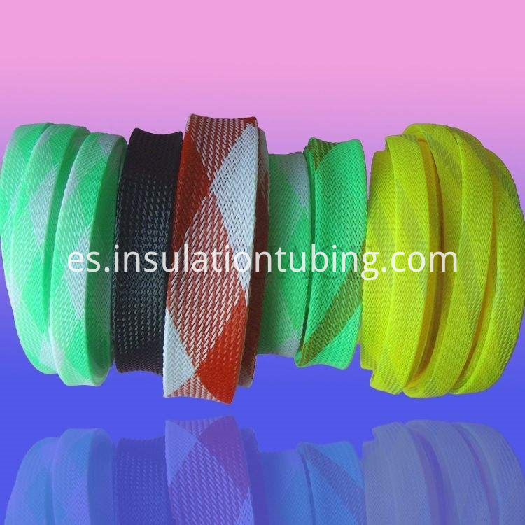 Pet Expandable Mesh Fabric Sleeve For Cable