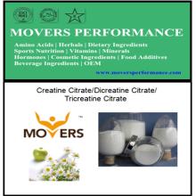 Citrate de créatine / Citrate de Dicreatine / Citrate de Tricheatine avec la qualité