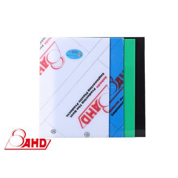 Folha de HDPE de polietileno de alta densidade extrudada