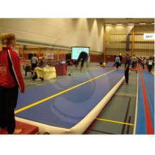 Popular dobrável Inflatalbe ginásio colchões feitos de ponto de gota