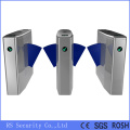 Glass Wing Speed Gate Flap Turnstile Barrier