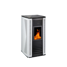 Modern 10KW wood pellet stove indoor biomass fire place