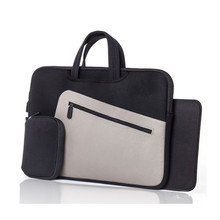 "Waterproof 15.6"" Inch Leather Laptop Bags Sleeve"