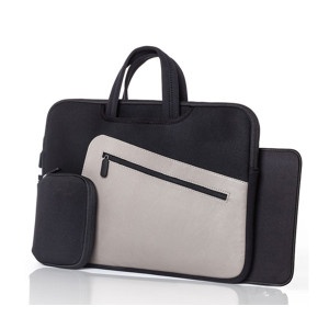"Impermeabile da 15.6"" pollici in pelle Borse Laptop Sleeve"