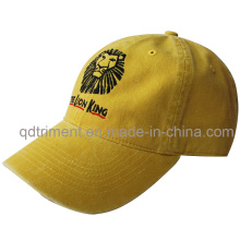 Washed Brushed Pigment Dyed Embroidery Twill Sport Cap (TMB1973)