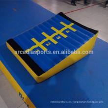 Rampas que despiden interiores inflables caseras al por mayor de la rampa de aire de la aptitud