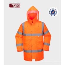 Los hombres de color naranja magnífico reflectante Hola vis utilizado trabajo uniformes de seguridad workear
