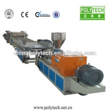 WPC/PVC-Schaum Plastic Machine /WPC Schaum Blatt Linie PVC Kunststoff Schaum Board Extrusion Kartonmaschine