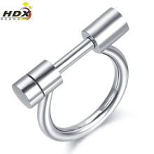 Alta qualidade de aço inoxidável anel de moda jóias acessórios anel (hdx1033)