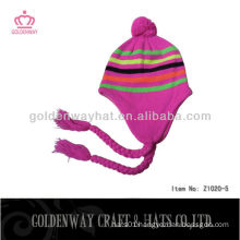 custom womens knitted winter hats