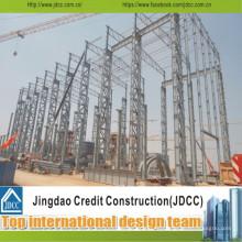 Almacenes de estructura de acero ligero prefabricado de bajo costo