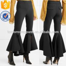 El arco del buey cosechó los pantalones acampanados al por mayor de la fabricación de la ropa de las mujeres de la manera (TA3001P)