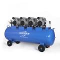 Top fabricant portable 8 bar 4 cylindre 100l peinture à l'huile sans pulvérisation silencieux silencieux compresseur d'air