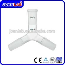 JOAN Laboratorio de Química Cristal Glass Y-Type Adapter