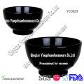 Promotional Ceramic Black Bowl with Customer Design