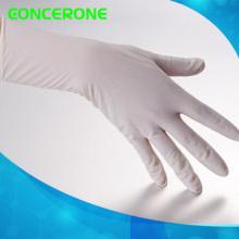 Gants chirurgicaux stérilisés jetables médicaux de latex avec la poudre