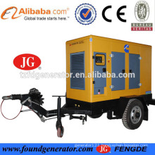 CE approved 100kva mobile light tower generator