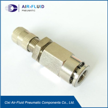 Air-Fluid 1/2 PTC Push Lock Valve