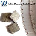 Smooth Cutting Kreissägeblatt Diamond Segment für Stone