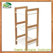 Bamboo Wall Shelf Storage Shelves