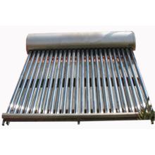 Calentador de agua solar de tubo de vacío doméstico de baja presión