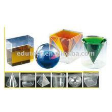 Educación Geométrica para el suministro escolar