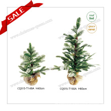 H40-140cm PE Christmas Tree with Snow Artificial Christmas Tree