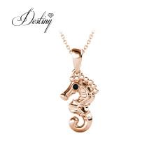 Ocean Jewelry Cute Seahorse Pendant Animal Necklace Pendant