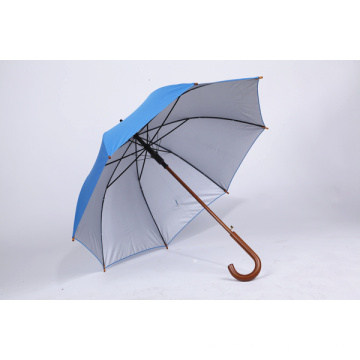 Impresión de pantalla personalizada Publicidad Paraguas de lujo promocional de lluvia