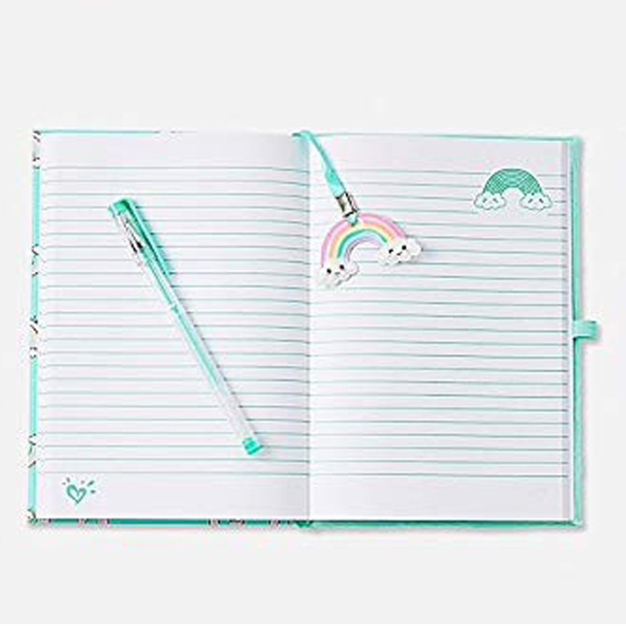 Rainbow Squishy Notebook 1