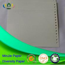 Estilo de polpa reciclado e revestimento não revestido Folhas de papelão colorido