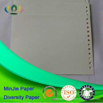 Papel de papelão de cor branca pré-impresso Papel de cartão offset
