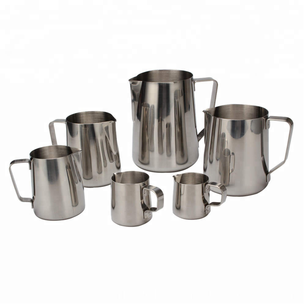 304 Stainless Steel Milk Cup Frothing Pitchers