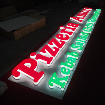 Custom Led Business Signs Big Channel Letters
