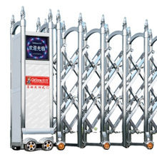 Luxury Main Gate Design Sliding Gate with Electric Gate Motor