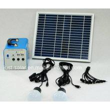 Système solaire d'éclairage de puissance de la maison 20W dans les marchés chauds