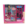 "Fashiontoy 11.5"" Doll with Wardrobe Play Set 2 Assted (H8726053)"