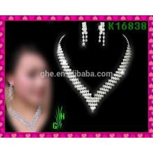 Европейская и американская красивейшая цепь шеи, ожерелье оптовой продажи rhinestone