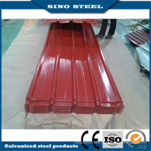 Prime 0.35mm Thiickness Prepainted Galvanized Roofing Sheet