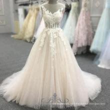 -Линии розовый без рукавов открыть назад Пром платья с бисером Холтер вечернее платье длинное платье