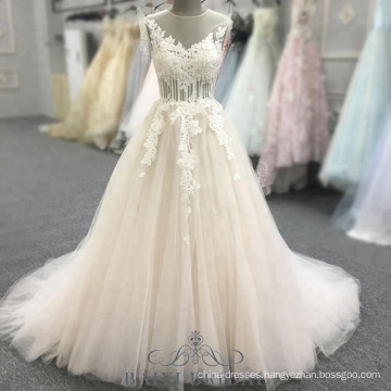 A-Line Pink Open Back Sleeveless Prom Dresses with Beads Halter Evening Dress Long Gown
