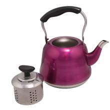 Bouilloire à eau colorée en acier inoxydable