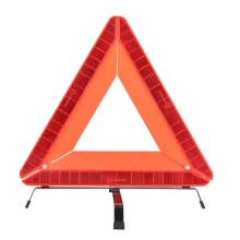 E-MARK traffic safety sign red reflective warning triangle