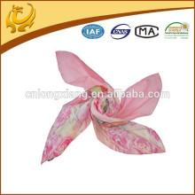 Muslimischer Hijab Art- und Weiseschal dünner Frühling 100% Silk Chiffon- Malaysia-Schal