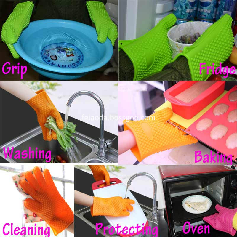 Promotional Silicone Kitchen Gloves