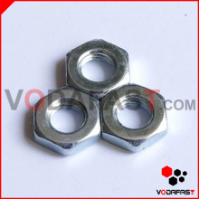 Hex Thin Nuts Zinc Plated
