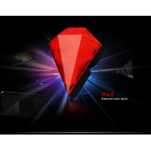 Vermelho, sinal, parte traseira, lâmpada, laser