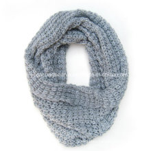 Acrylic Knitted Scarf Neck Warmer